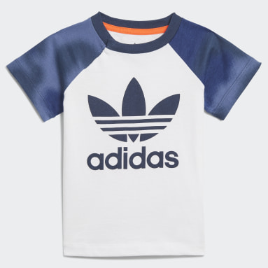Conjunto Shorts y Camiseta Estampado Camuflaje Blanco Niño Originals