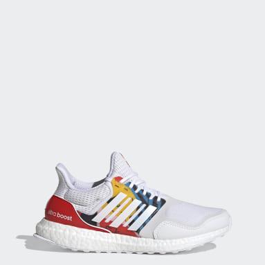 Women Running White Ultraboost S&L DNA Shoes