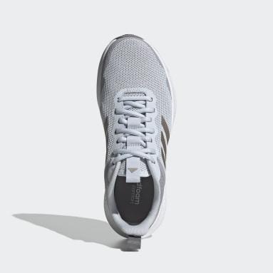 Women Running Blue Fluidstreet Shoes