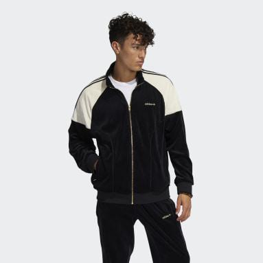 Chaqueta adidas SPRT Firebird Velour Negro Hombre Originals