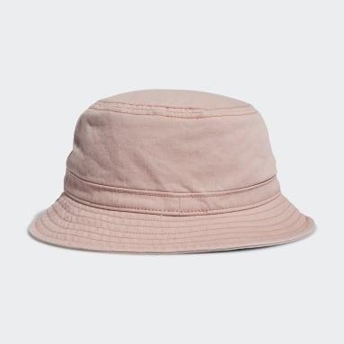 Originals Pink Washed Forum Bucket Hat