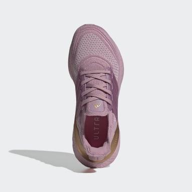 Women Running Pink Ultraboost 21 Shoes