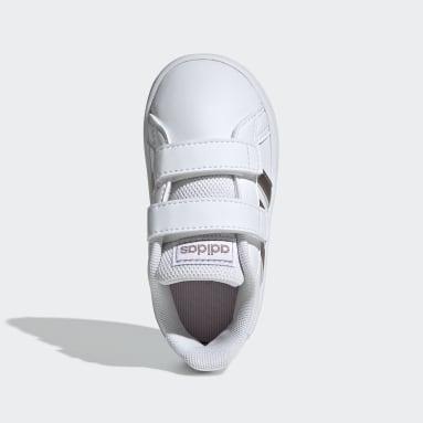 Kids Sportswear White Grand Court Shoes