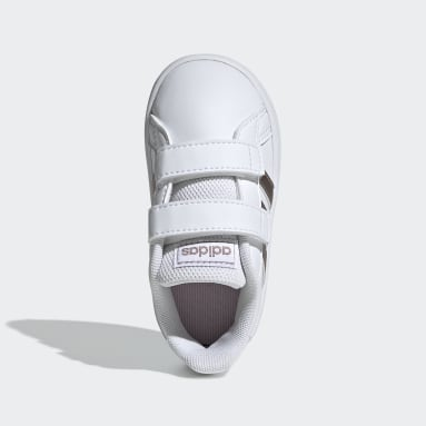 Tenis adidas Grand Court Blanco Niño Essentials