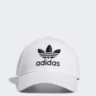 Men's Originals White Icon Pre-Curved Snapback Hat