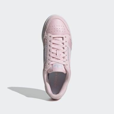Tenis Continental 80 Rosa Mujer Originals
