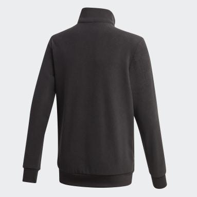 Boys Sportswear Svart Classics Warm Quarter-Zip Sweatshirt