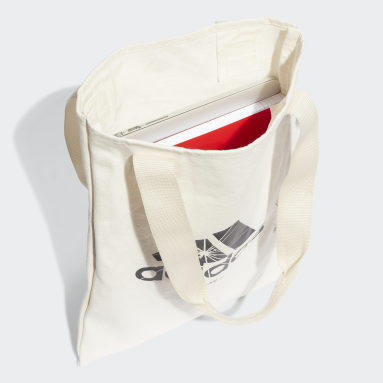 Tote bag The Simpsons Shopper Blanc Sportswear