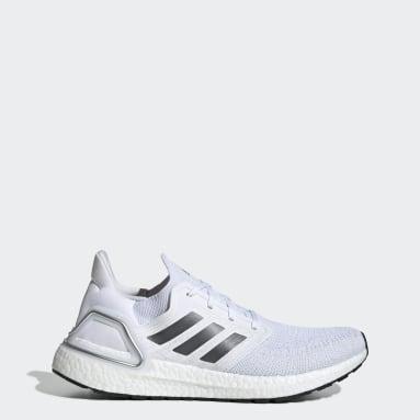 Men Running White Ultraboost 20 Shoes