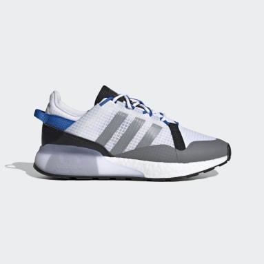 Men Originals White ZX 2K Boost Pure Shoes