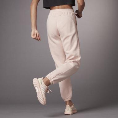 Women Sportswear Pink Hyperglam Shiny Sweatpants