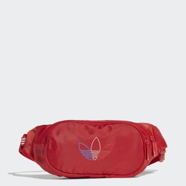 Canguro Adicolor Primeblue Rojo Originals
