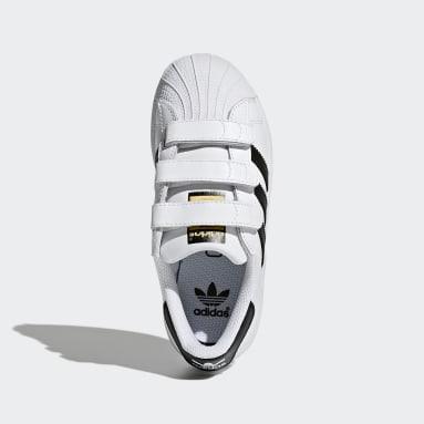 Çocuklar Originals Beyaz Superstar Foundation Ayakkabı