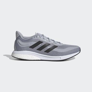 Men Running Grey Supernova Shoes