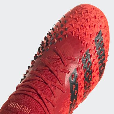 Men Football Red Predator Freak.1 Soft Ground Boots