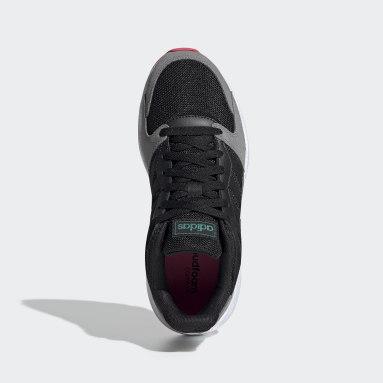 Women Running Black Crazychaos Shoes