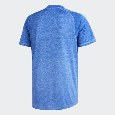 Men Yoga Blue FreeLift 360 Gradient Graphic T-Shirt