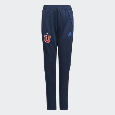 Pantalón de Entrenamiento Club Universidad de Chile Azul Niño Fútbol