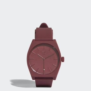 Zegarek PROCESS_SP1 Bordowy