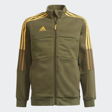 Youth Soccer Green Tiro Winterized Jacket