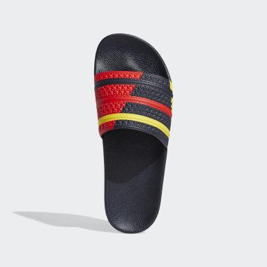 ผู้ชาย Originals สีน้ำเงิน รองเท้าแตะ Adilette