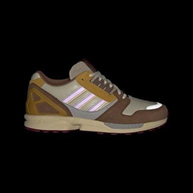 Men Originals Brown ZX 8000 Shoes