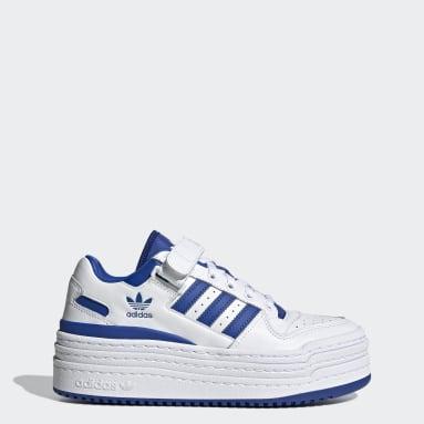 Kvinder Originals Hvid Triple Platforum Lo sko