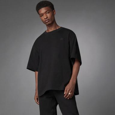 T-shirt Blue Version Essentials Nero Uomo Originals