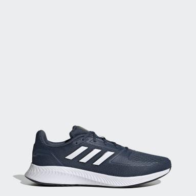 Hardlopen Blauw Runfalcon 2.0 Schoenen