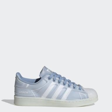 Originals Blå Superstar Futureshell sko