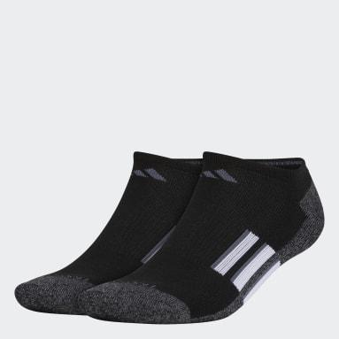 Men's Hiking Black Cushioned No-Show Socks 2 Pairs