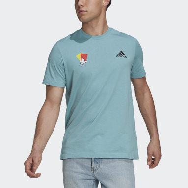 Camiseta Estampada Mascot Number Verde Homem Futebol