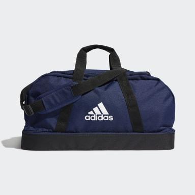 Fotboll Blå Tiro Primegreen Bottom Compartment Duffel Bag Medium