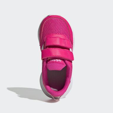 Girls Running Pink Tensaur Shoes