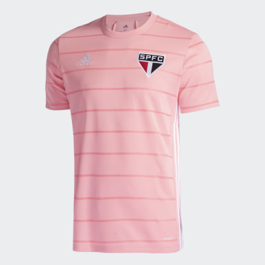 Camisa Outubro Rosa São Paulo FC Rosa Homem Futebol