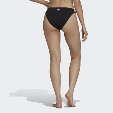 Dames Originals zwart Adicolor Classics Primeblue Bikinibroekje