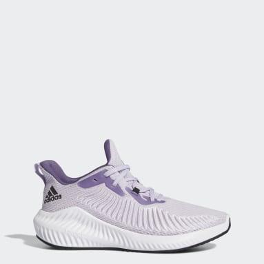 Tenis Alphabounce+ Violeta Mujer Running