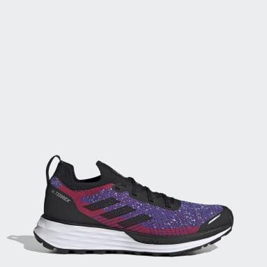Women TERREX Red Terrex Two Primeblue Trail Running Shoes