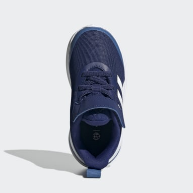 Chaussure de running FortaRun Elastic Lace Top Strap Bleu Enfants Running