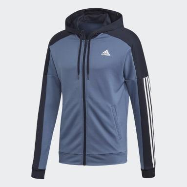 Buzo Deportivo Game Time Azul Hombre Sportswear