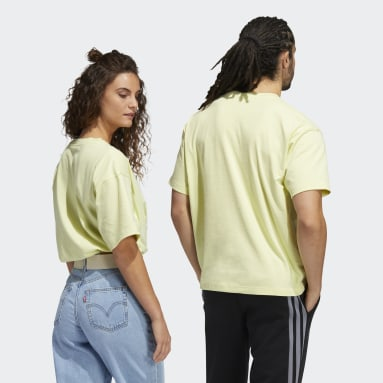Sport Inspired Yellow Love Unites Graphic Tee (Gender Neutral)