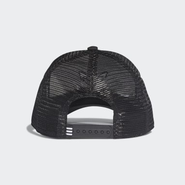 Cappellino Trefoil Trucker Nero Originals