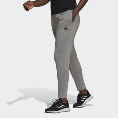 Women Sport Inspired Grey Primegreen Essentials Warm-Up Comfort Fleece Pants