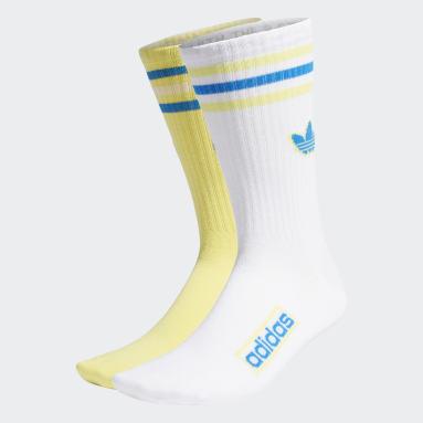 Originals Yellow Crew Socks 2 Pairs
