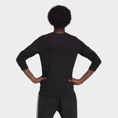 Sweat-shirt Essentials Logo Noir Femmes Sportswear