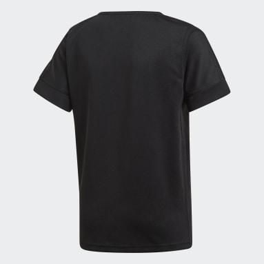 Camiseta primera equipación All Blacks Negro Niño Rugby