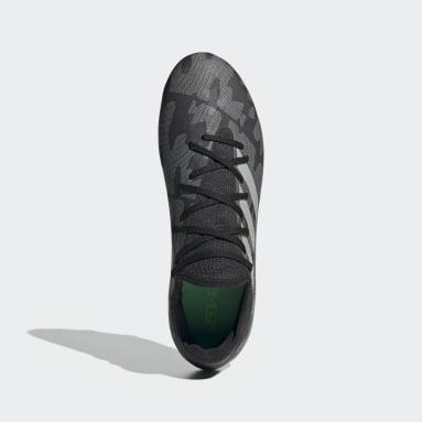 Bota de fútbol Gamemode Knit césped natural seco Negro Fútbol