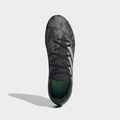 Football Black Gamemode Knit Firm-Ground Boots