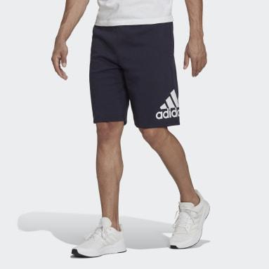 Men's Essentials Blue adidas Essentials Fleece Big Logo Shorts