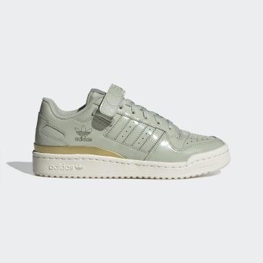 Women's Originals Green Forum Low Shoes